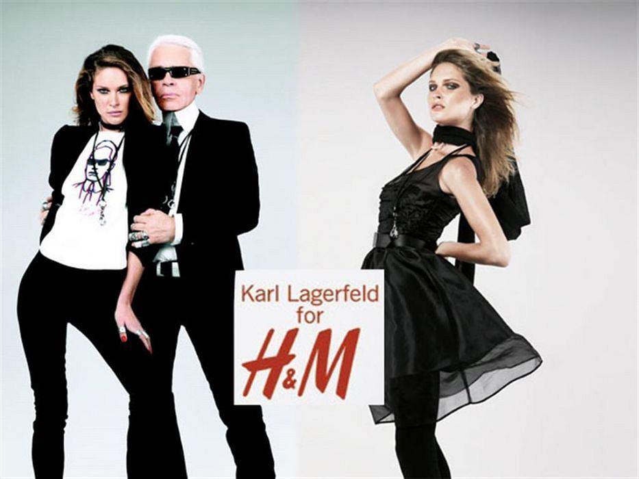 Słynna kolekcja Karl Lagerfeld dla H&M