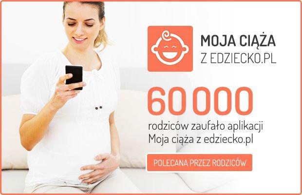 """Aplikacja """"Moja ciąża z eDziecko.pl"""" ma już rok! A my mamy dla was KONKURS"""