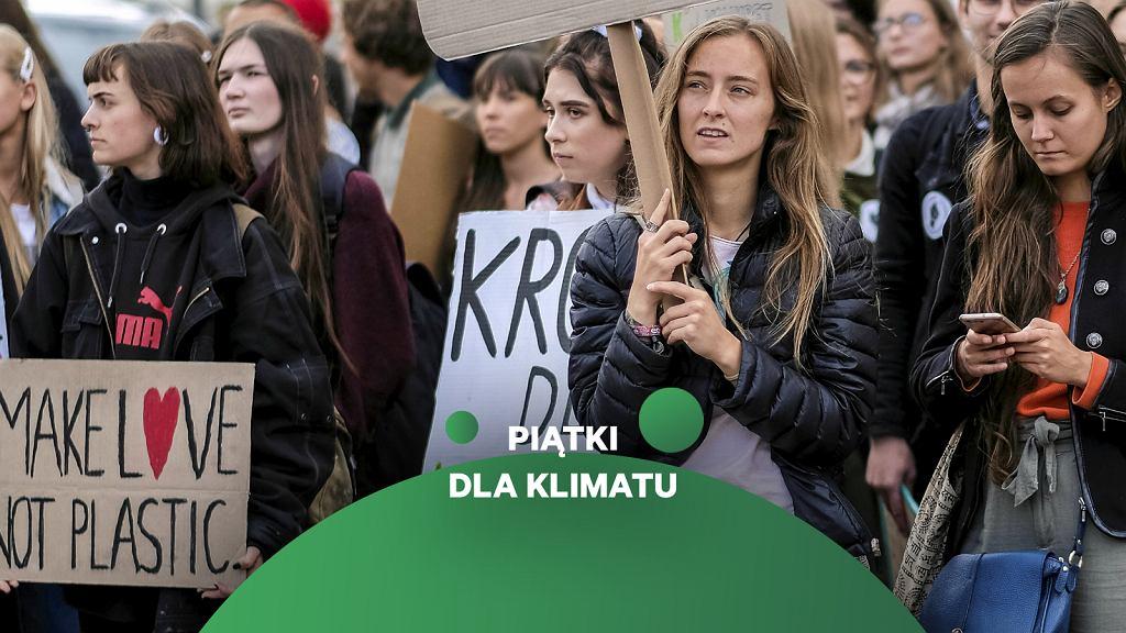 Młodzieżowy Strajk Klimatyczny. Zaangażowanie się jest jednym z najlepszych działań na rzecz klimatu