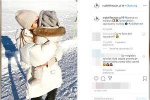 Kasia Tusk pozuje z córką. Czapka dziewczynki jest na wyprzedaży, ale wciąż kosztuje krocie