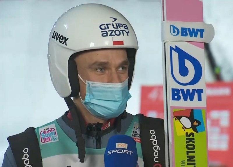 Piotr Żyła w wywiadzie po konkursie w Engelbergu