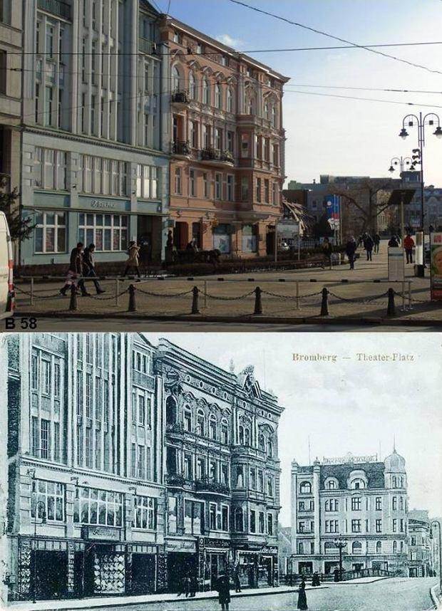 Zdjęcie numer 1 w galerii - Tak zmieniła się Bydgoszcz. Jeszcze więcej mistrzowskich porównań zdjęć