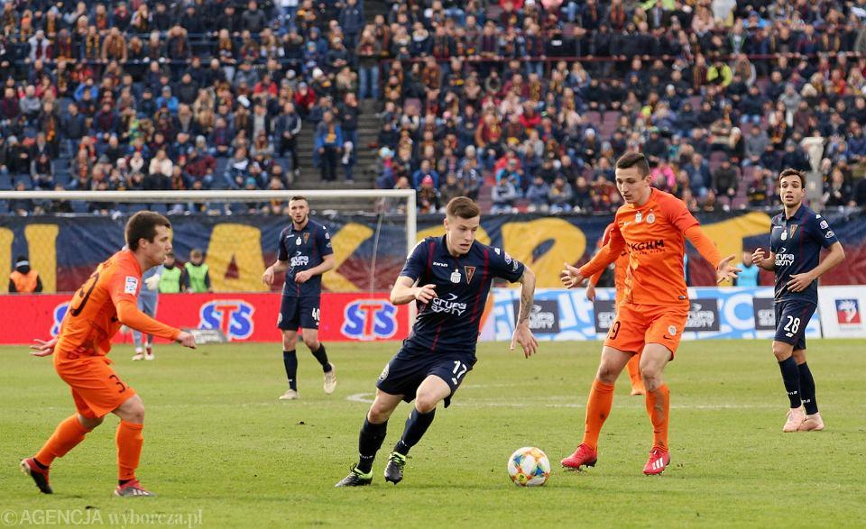 10 marca Pogoń przegrała u siebie z Zagłębiem Lubin 0:3