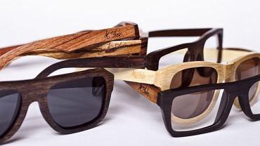 Drewniane okulary z kolekcji K. Blok. Cena: 249 zł