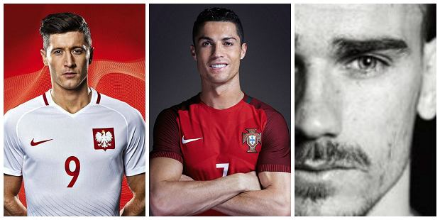 Robert Lewandowski, Cristiano Ronaldo, Antoine Griezmann