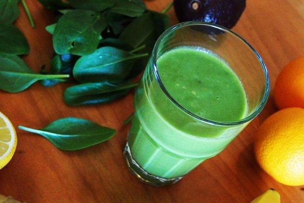 Moc jest w zielonym - czyli smoothie z użyciem awokado