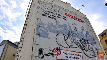 Nowy mural przy ul. Waryńskiego