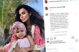 Natalia Siwiec udostępniła zdjęcie z córką. W komentarzach krytyka