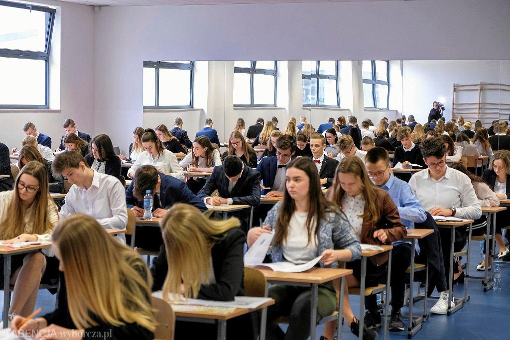 Szkoła Podstawowa nr 18 w Rzeszowie. Drugi dzień egzaminów gimnazjalnych