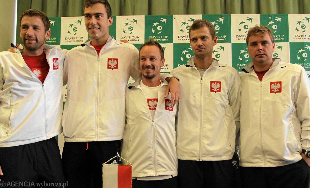 Polska kadra na Puchar Davisa