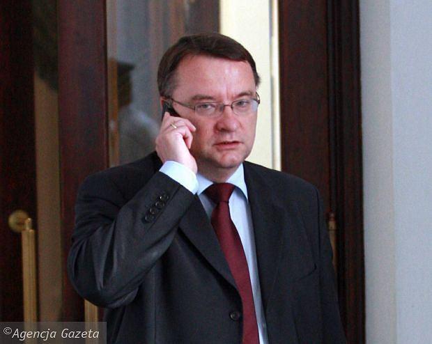 Marek Biernacki w Sejmie