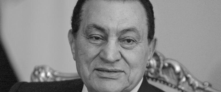 Hosni Mubarak nie żyje. Były prezydent Egiptu zmarł w wieku 91 lat