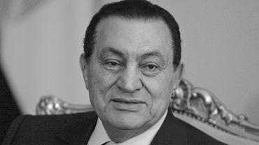 Nie żyje były prezydent Egiptu Hosni Mubarak