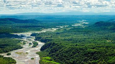 Rzeka Pastaza przepływa przez Ekwador i Peru.
