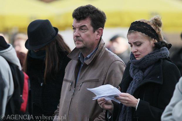 Rodzina Radwańskich na Marszu Pamięci