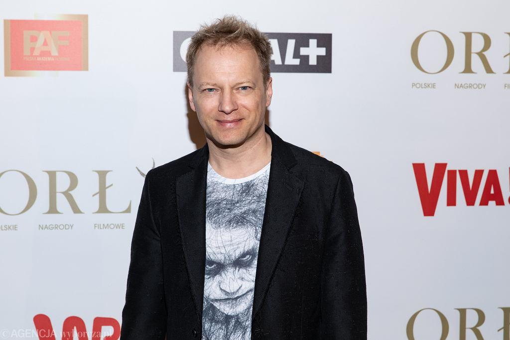 Maciej Stuhr na gali Orły w 2019 roku