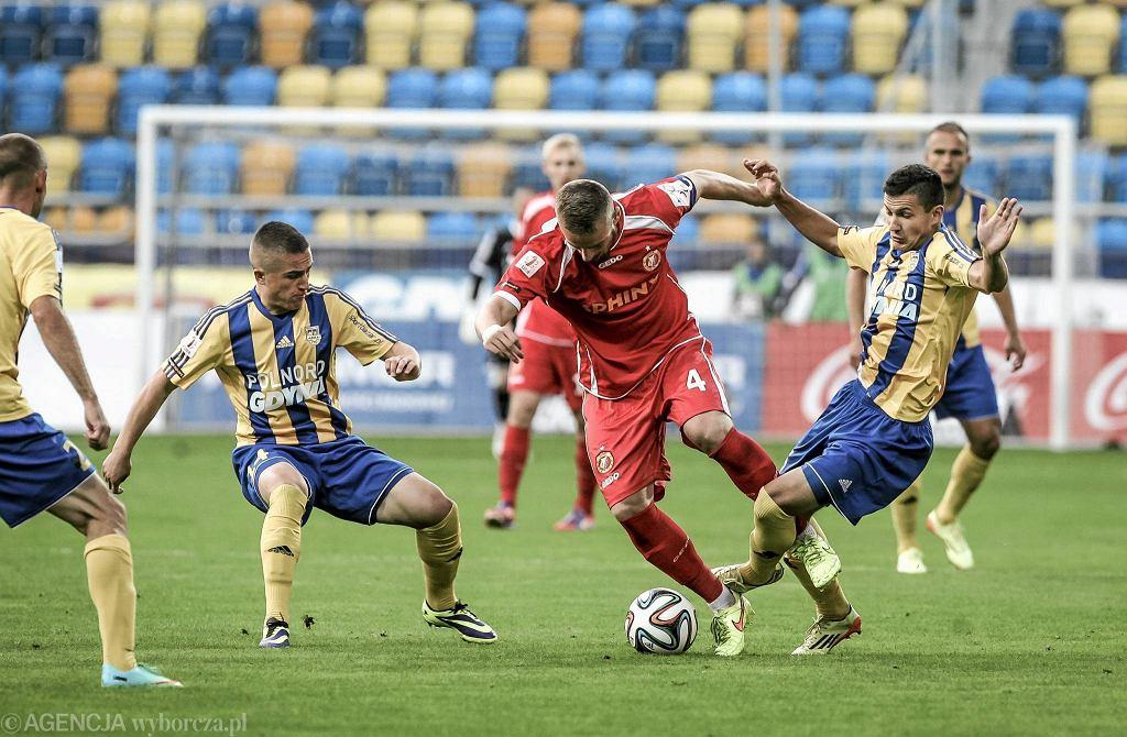 W rundzie jesiennej Arka przegrała z Widzewem Łódź 1:2