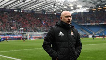 Wisła Kraków - Lech Poznań 1:1. Trener Artur Skowronek