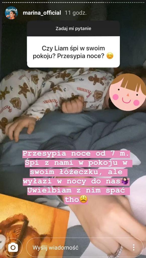 Marina Łuczenko o śnie swojego syna