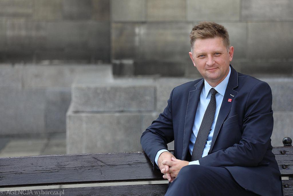 Andrzej Rozenek, kandydat SLD na prezydenta Warszawy