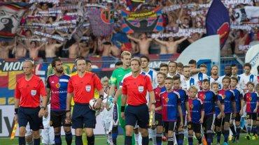 FC Basel - Lech Poznań 1:0 w III rundzie eliminacji do Ligi Mistrzów.