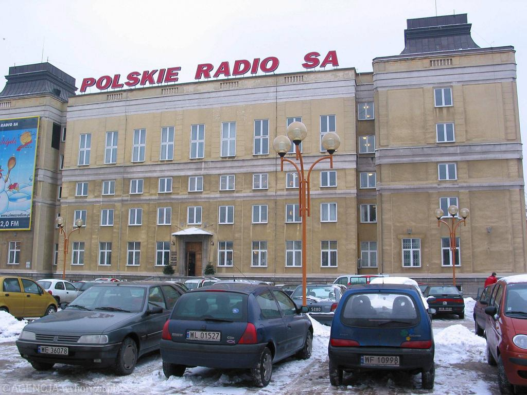 Budynek Polskiego Radia przy al. Niepodległości