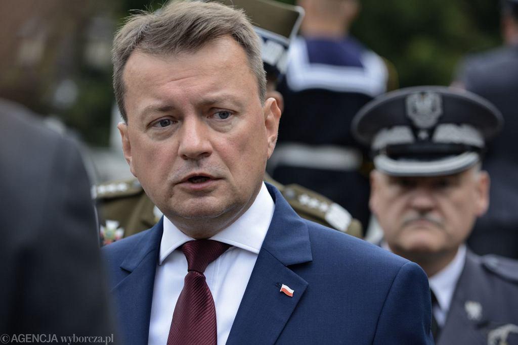 Mariusz Błaszczak, szef MON