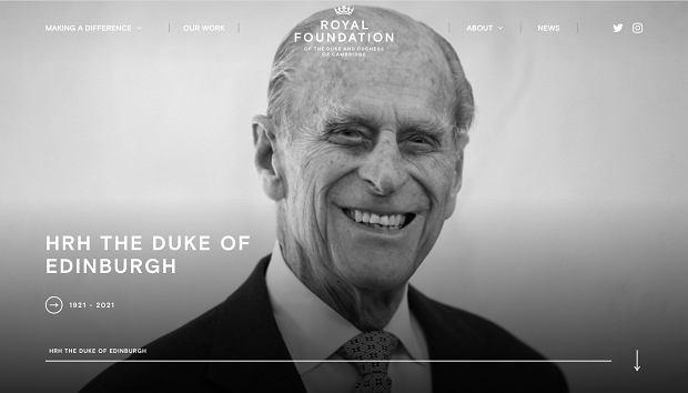 Kate Middleton i książę Harry pożegnali księcia Harrego na stronie Royal Foundation