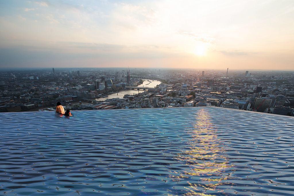 Compass Pools zaprojektował niezwykły basen 360 stopni