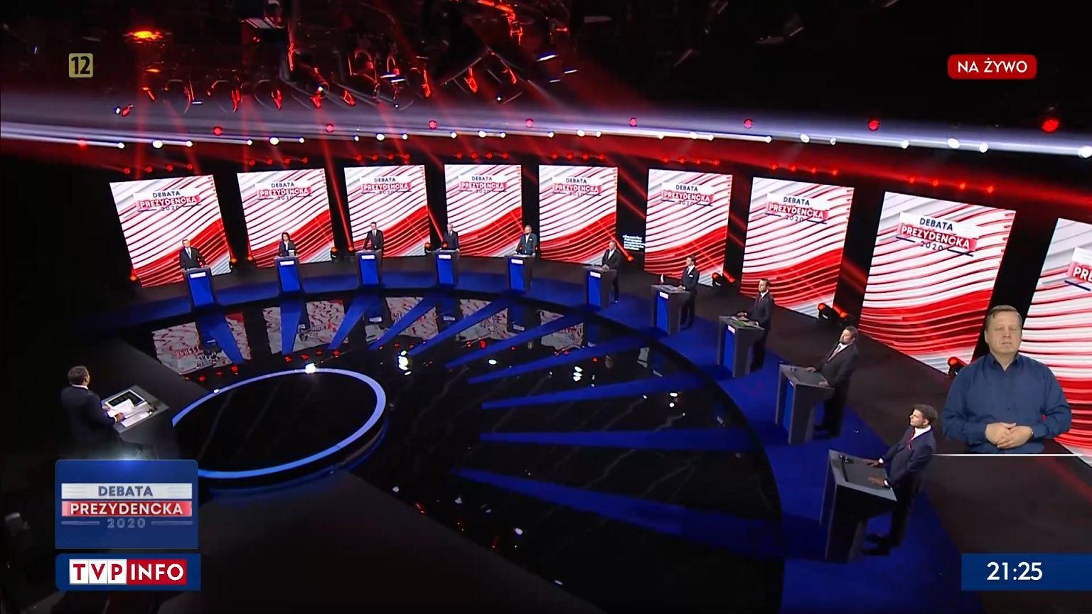Wybory prezydenckie 2020. Debata prezydencka w TVP. O której godzinie? Kto weźmie udział?