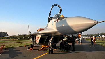 Mig-29 prezentowany na Radom Air Show, 27 sierpnia 2011