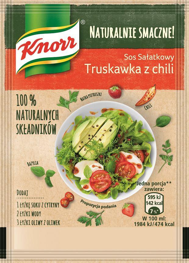 Sos sałatkowy Truskawka z chili Naturalnie Smaczne Knorr