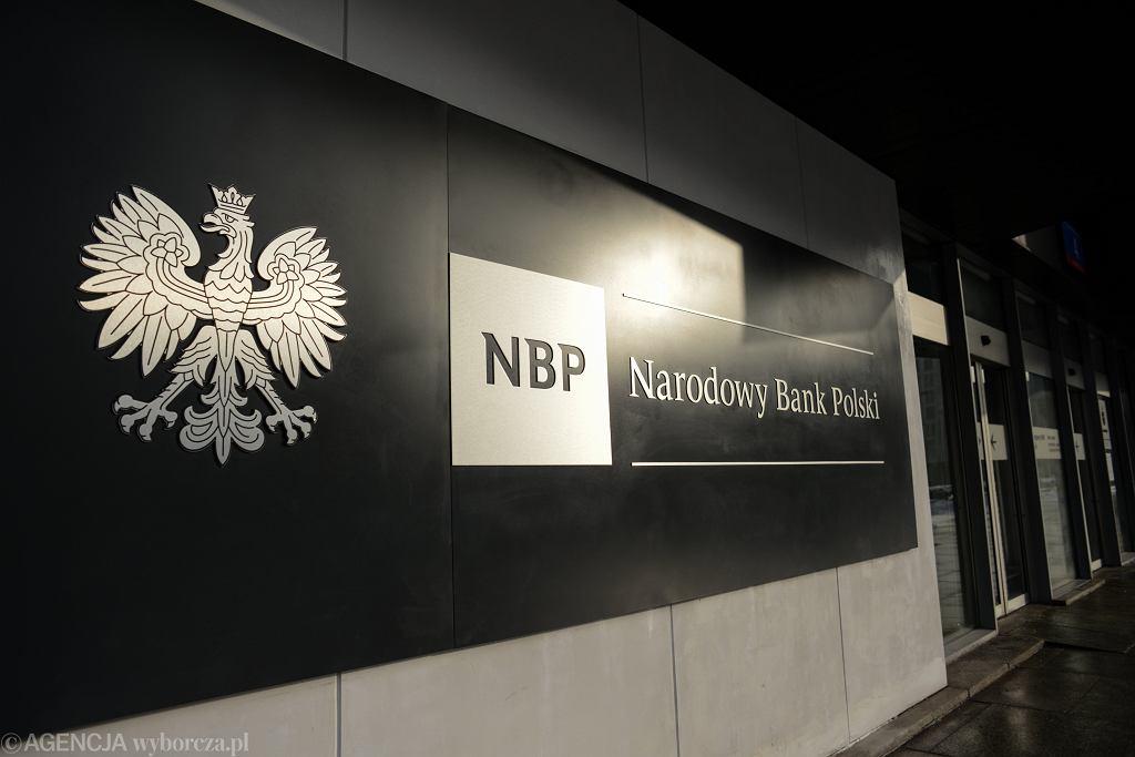 Rada Polityki Pieniężnej przy NBP obniżyła stopy procentowe. Na zdj. siedziba NBP w Warszawie