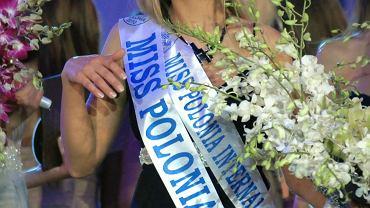 Rozalia Mancewicz podczas wyborów Miss Polonia 2010