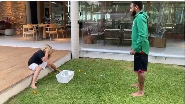 Neymar strollował własnego syna