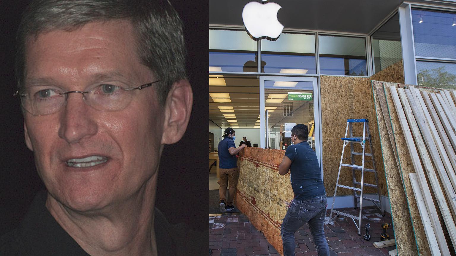 Zamieszki w USA po śmierci George'a Floyda. Tim Cook, szef Apple, w liście do pracowników: Stwórzmy lepszy świat | Biznes na Next.Gazeta.pl