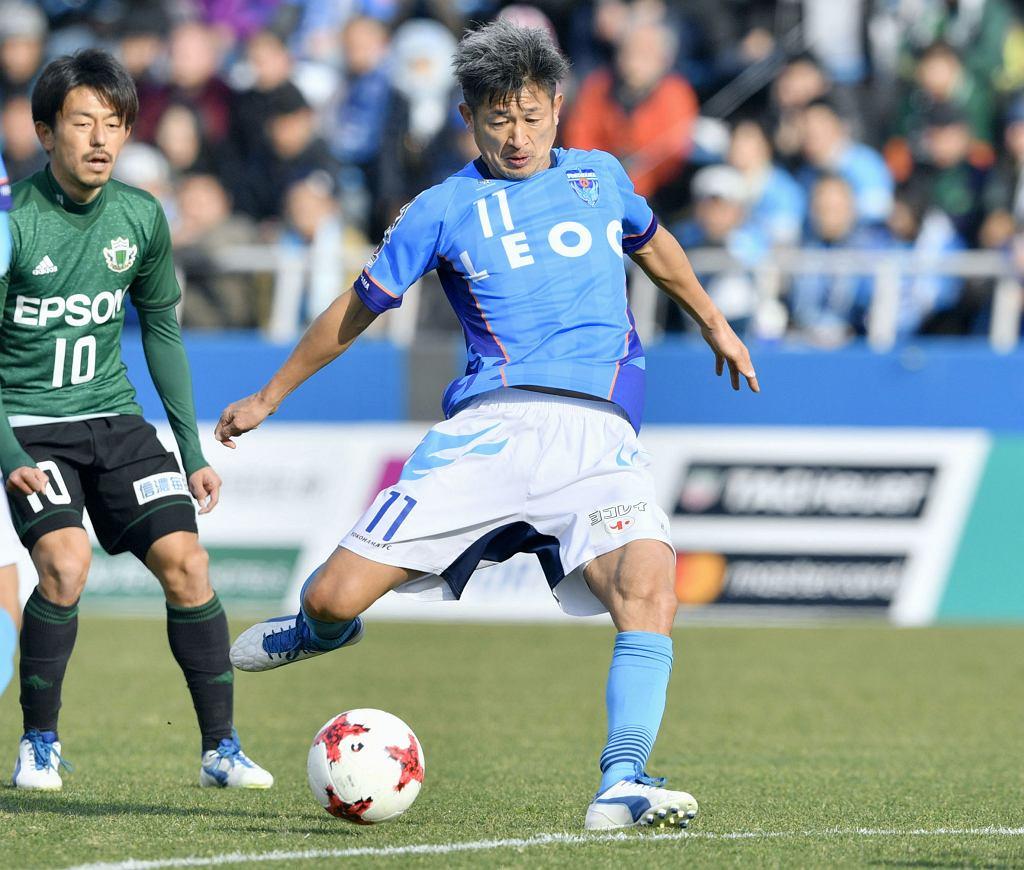 Kazuyoshi Miura strzela gola i bije rekord świata
