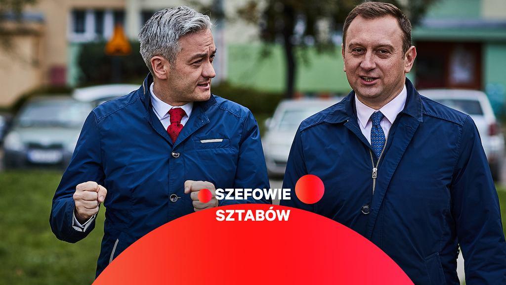 Robert Biedroń i Tomasz Trela