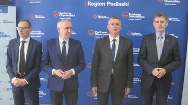 Konferencja Tomasza Siemoniaka i Roberta Tyszkiewicza