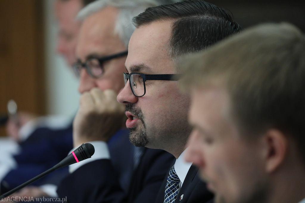 7Slawomir Nowak przed Komisja Sledcza ds VAT w Warszawie