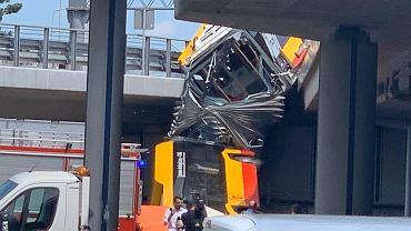Wypadek autobusu 186 w Warszawie