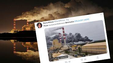 Pożar w Bełchatowie (zdjęcie ilustracyjne)