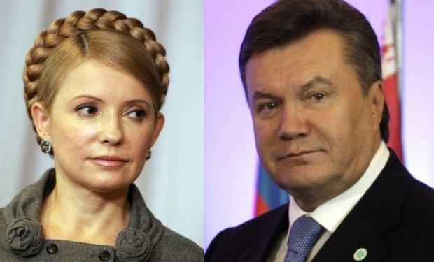 Julia Tymoszenko, Wiktor Janukowycz