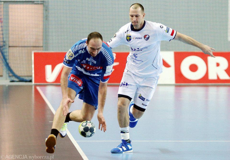 Najwięcej bramek dla Wisły w Białej Podlaskiej zdobył prawoskrzydłowy Valentin Ghionea