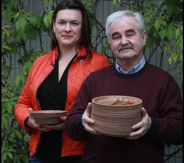 Małgorzata Then i Jerzy Wysocki z firmy Biotrem