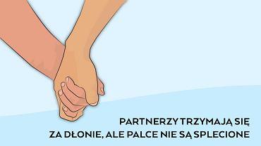 Sposób, w jaki trzymacie się za ręce, może świadczyć o kondycji waszego związku.