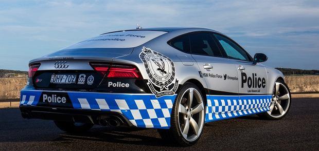 Audi S7 australijskiej policji
