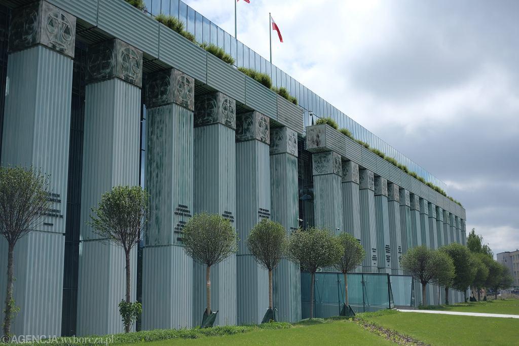 Budynek Sądy najwyższego. Warszawa, 26 maja 2020