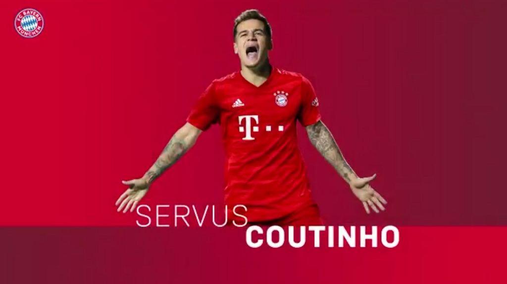 Philippe Coutinho piłkarzem Bayernu Monachium
