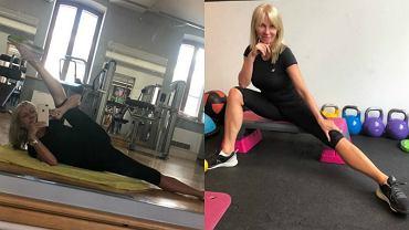 Mariola Bojarska-Ferenc zaprasza na fit weekend 'Szykuję bardzo energetyczny program'. Chce być jak młodsze koleżanki?